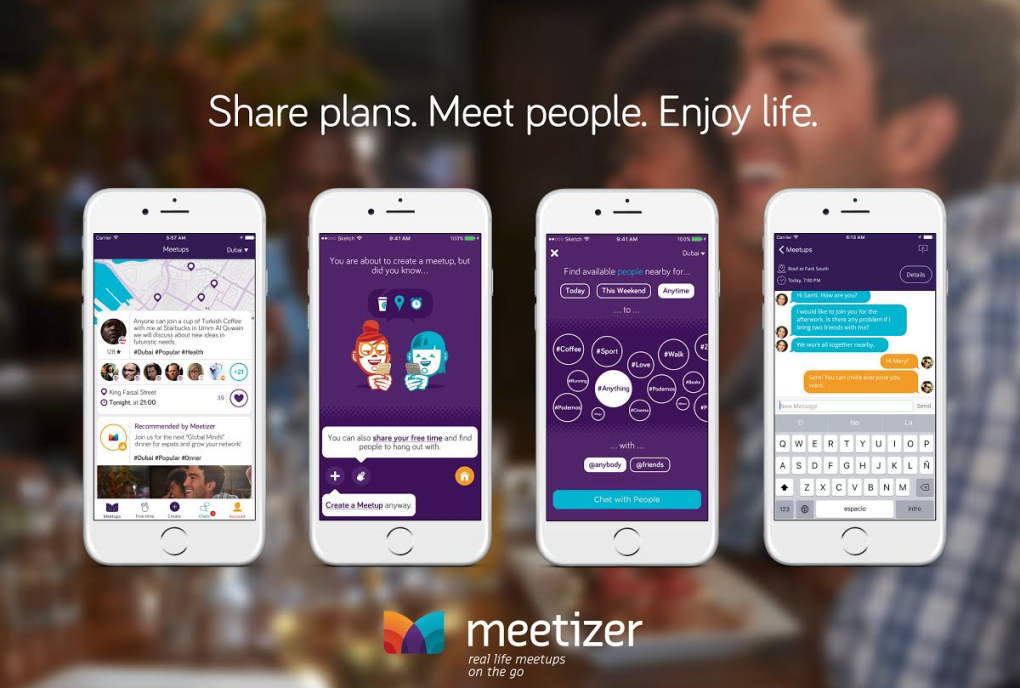 Meetizer, Social, iOS, Android, Mobile